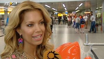 RTL Boulevard Voetbalvrouwen vertrekken naar de Oekraine