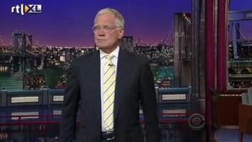 RTL Nieuws David Letterman grapt om doodsbedreiging