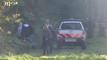 RTL Nieuws Verdachte Farida-zaak met politie bos in