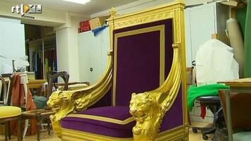 RTL Nieuws De troon van de koning
