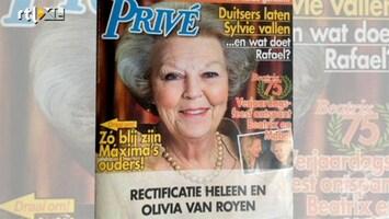 RTL Boulevard Verrassende wending Heleen van Royen artikel