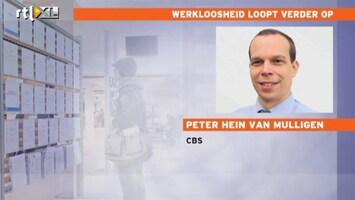 RTL Nieuws 'Vooral in bouw en detailhandel stijgt werkloosheid'
