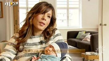 RTL Boulevard Babybezoek Nadja Hupscher