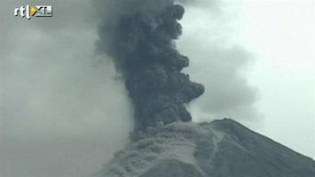 RTL Nieuws Angst om vulkaan in Ecuador