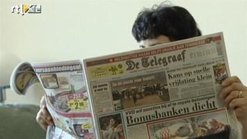 RTL Nieuws Telegraaf lijdt onder advertentiemarkt