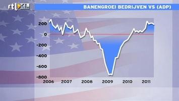 RTL Z Nieuws 14:00 uur: Banengroei particuliere sector VS valt vies tegen