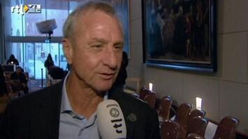 RTL Nieuws Johan Cruijff: tentoonstelling is een film van mijn leven