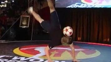 RTL Nieuws WK Freestyle voetbal gewonnen door Brit