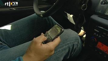 RTL Nieuws Politie strenger op smartphonegebruik automobilist