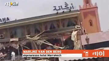 RTL Nieuws Ooggetuige over aanslag Marrakesh