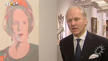 RTL Boulevard Veiling Andy Warhol's Beatrix