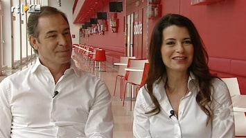 RTL Boulevard Erik de Vogel en Caroline de Bruijn op uitnodiging naar Buckingham Palace