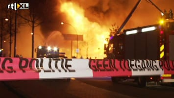 RTL Nieuws Enorme brand in Enschede