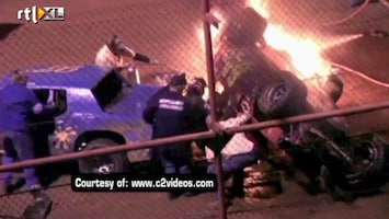 RTL Nieuws Rivaal schiet te hulp bij ongeluk op racebaan