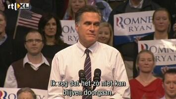 RTL Nieuws Romney doet nog even alle swingstates aan