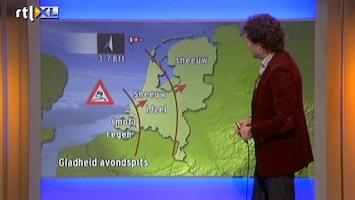 RTL Nieuws Code Oranje: 'Een gevaarlijk gladde avondspits'