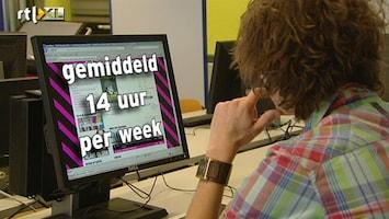RTL Nieuws Jongeren internetten zich suf