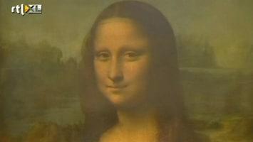 RTL Nieuws Onderzoek naar genetisch materiaal Mona Lisa