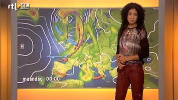 RTL Nieuws 'Pittige buien, mogelijk met hagel en onweer'