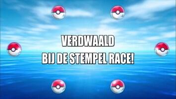 Pokémon - Verdwaald Bij De Stempelrace