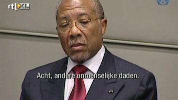 RTL Nieuws Charles Taylor is schuldig