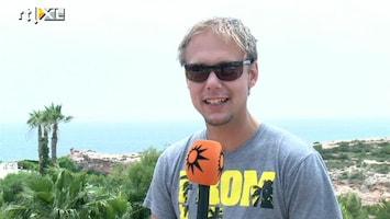 RTL Boulevard Armin van Buuren voor fotoshoot in Ibiza en wordt opnieuw vader