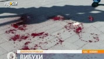 RTL Nieuws Gewonden door ontploffingen in Oekraïne