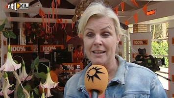 RTL Boulevard Irene Moors presenteert bij 100%NL