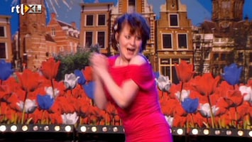Holland's Got Talent Judith (playback en expressie)
