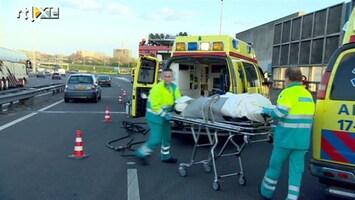 RTL Nieuws Dode bij ongeval A16