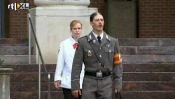 RTL Nieuws Vader pleit in nazi-uniform voor bezoekregeling