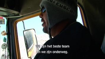 Ruige Mannen: Deadliest Roads Desert disaster