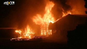 RTL Nieuws Zeer grote brand in Veenendaal