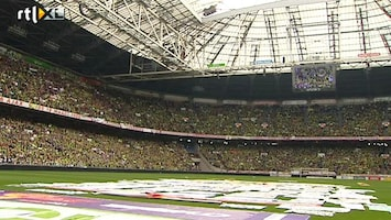 RTL Nieuws Een stadion vol stakende leraren