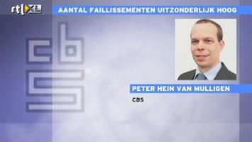 RTL Nieuws CBS: Nog nooit zoveel bedrijven failliet als in eerste helft 2012