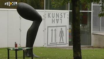 RTL Nieuws Arrestatie voor poging tot afpersing na Kunsthal-roof