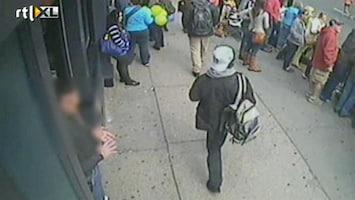 RTL Nieuws Beelden van twee verdachten aanslagen Boston