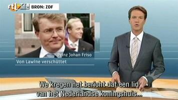 RTL Nieuws Prins Johan Friso is wereldnieuws