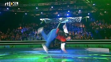 Everybody Dance Now Andreas knalt met laatste optreden