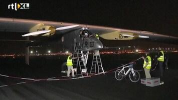 RTL Nieuws Zonne-vliegtuig maakt vlucht van 10 uur