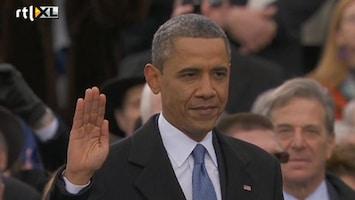 RTL Nieuws Obama voor publiek beëdigd