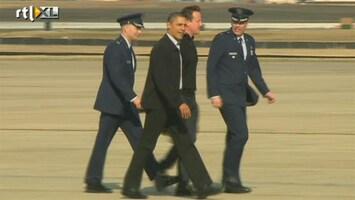 RTL Nieuws Britse premier Cameron bezoekt Obama