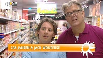RTL Boulevard Cas Jansen en Jack Wouterse in nieuwe reclame