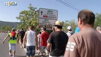 RTL Nieuws Spaanse 'Robin Hood' loopt protestmars
