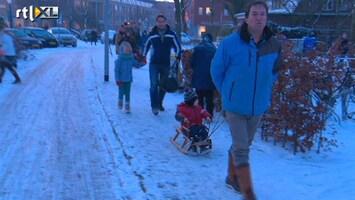RTL Nieuws Winterweer houdt tot in het weekend aan