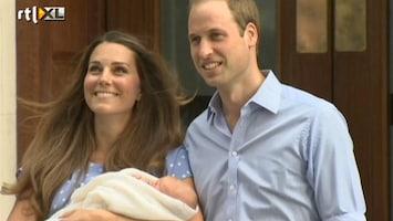 RTL Nieuws Dit is hem dan: de Royal Baby