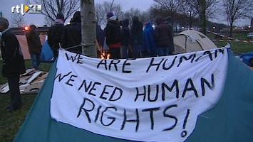 RTL Nieuws Somaliërs kamperen buiten