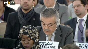 RTL Nieuws Syrië loopt boos weg uit vergadering VN