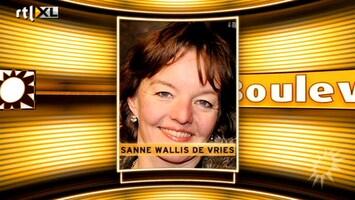 RTL Boulevard Sanne Wallis de Vries spijt van BZV-persiflage