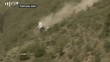 RTL GP: Rally Report Heftige crash Latvala